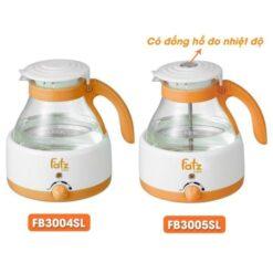 Máy hâm nước pha sữa FATZ BABY 800ml có đồng hồ đo nhiệt độ FB3004SL / FB3005SL