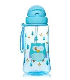 Bình uống nước Upass 300ml có ống hút cho bé từ 12 tháng tuổi UP0090N