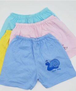 Quần chục đùi cho bé 0-4 tuổi Thái Hà Thịnh 100% cotton mềm, mịn, mát