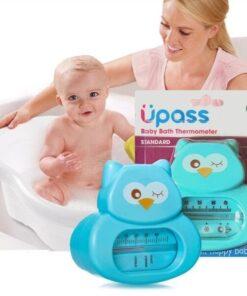 Nhiệt kế UPASS đo nhiệt độ nước tắm xanh UP4009NX