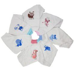 [COMBO RẺ NHẤT] 10 quần sơ sinh màu trắng 100% cotton Thái Hà Thịnh