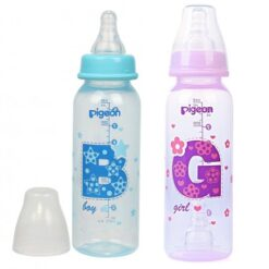 Bình sữa Pigeon 240ml cổ hẹp PP cao cấp bé trai, bé gái