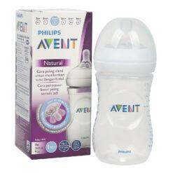 Bình sữa Philips Avent Natural 260ml bằng nhựa, không có BPA