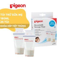 Túi trữ sữa mẹ Pigeon 180ml (Hộp 25 túi)