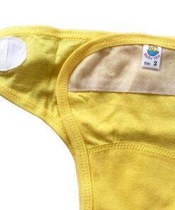 SET 10 chiếc tã vải dán Babyleo 100% cotton Thái Hà Thịnh - Size 1, có in hình