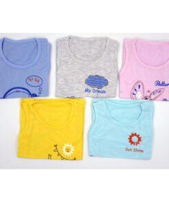 SET 10 áo ba lỗ 100% cotton Thái Hà Thịnh - Size 1