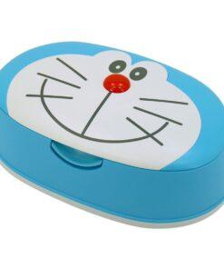 Giấy ướt LEC 99,9% nước tinh khiết có hộp đựng Doraemon SS-275 80 tờ